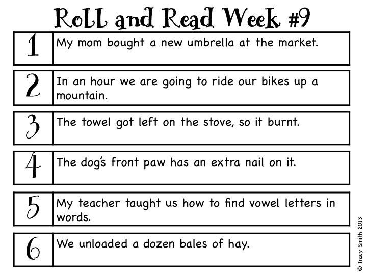 Roll and Read Game - Focuses on National Reading Vocabulary Grade 3