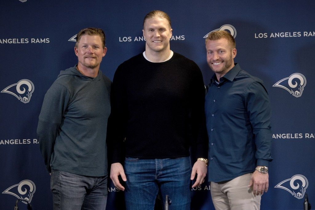 Clay Matthews Says Signing On With Rams Is Perfect Fit After Parting Ways With Packers Clay Matthews Clay Matthews Iii Strength And Conditioning Coach
