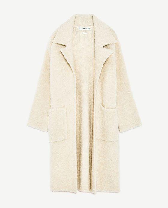 738d76c8 Image 8 of SOFT KNIT COAT from Zara | Coats/Blazers | Knitted coat ...
