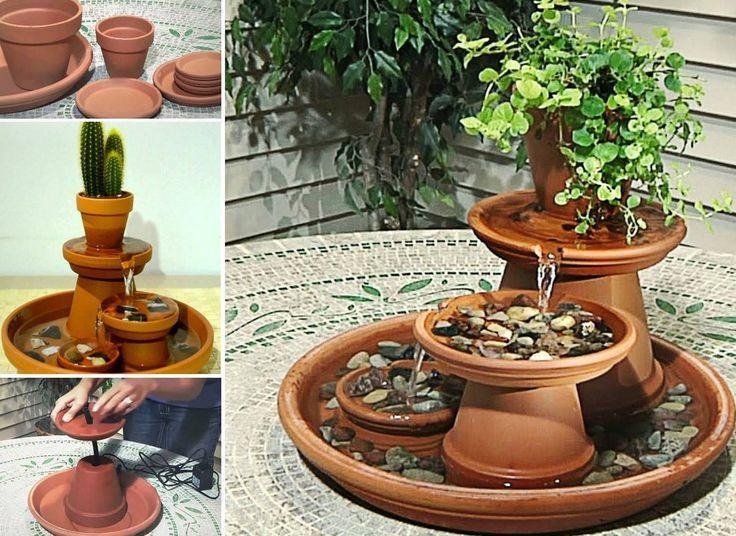 Resultado De Imagen Para Diy Indoor Water Fountain Ideas