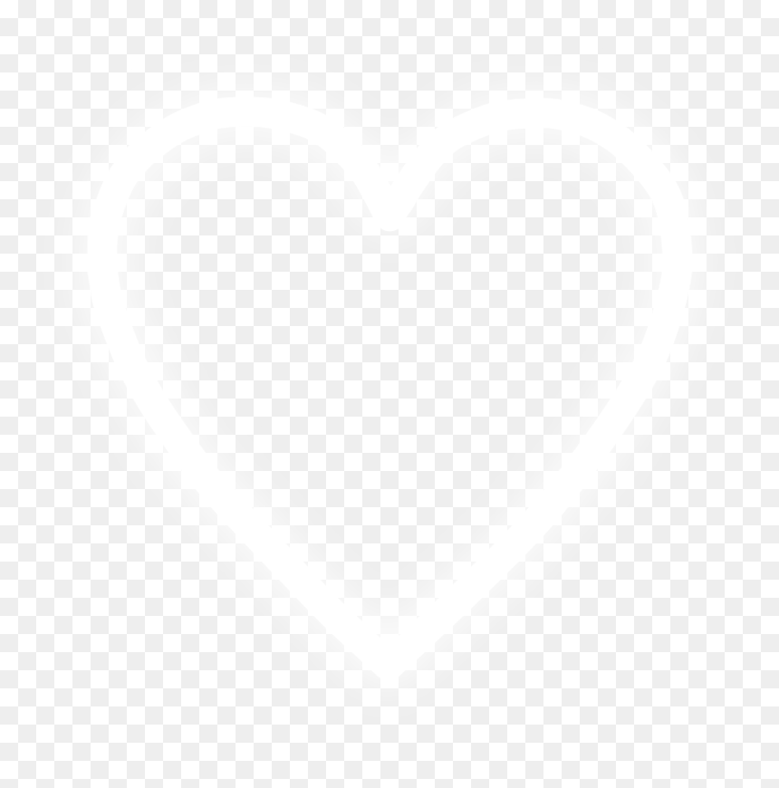 Gray White Heart Png White Heart Png Image