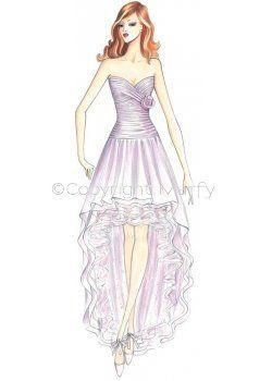 wedding dress pattern s812  wedding dress sketches