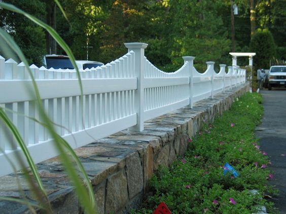 25 Best Vinyl Fencing Ideas Of 2018 For Ultimate Inspiration Vorgarten Zaun Ideen Vorhof Zaun