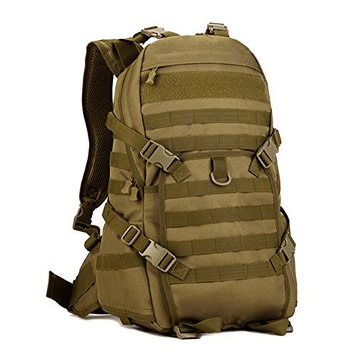 98c28c3fb181 SUNVP Tactical Military Assault Pack Backpack Gear 600D Nylon Sport Outdoor  Rucksack Molle Bag 40L For Hunting Camping Trekking Travel     Read more  reviews ...