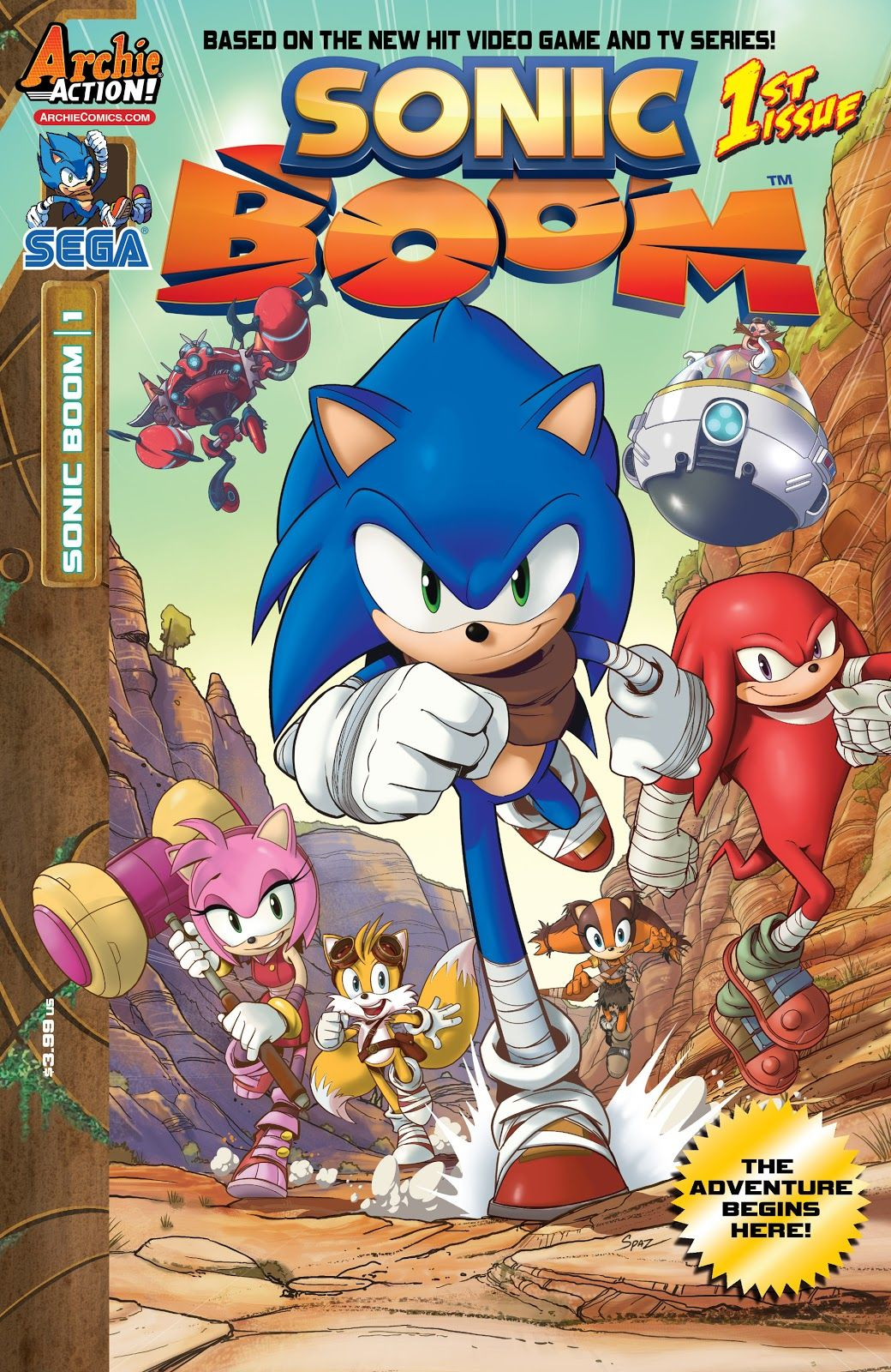 Sonic Boom Issue 1 Read Sonic Boom Issue 1 Comic Online In High Quality In 2020 Sonic Boom Sonic Archie Comics