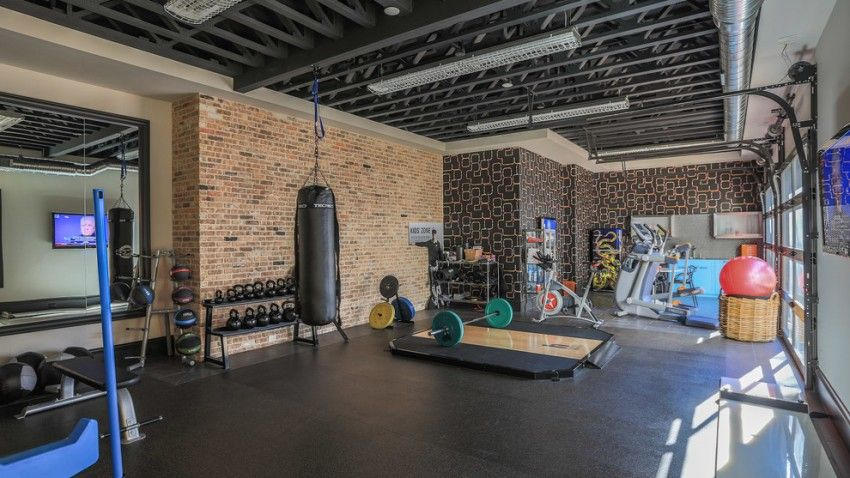 Home gyms for the modern home around the house home