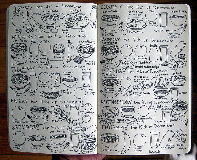 cool food journal