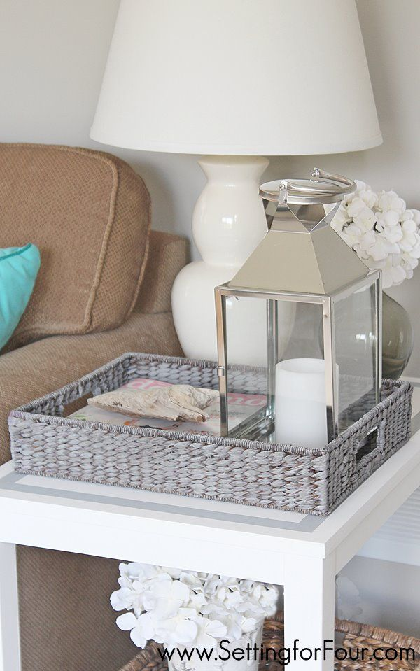 Paint a Tray with Grey Wash Finish Grey wash, Trays and Beach