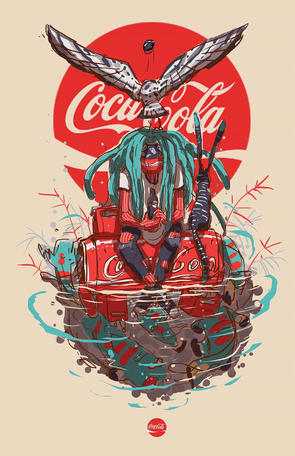 Artist Esoj Luna Illustrated Iconic Brands As If They Were Humans