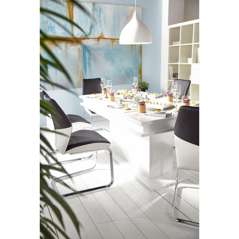 table de salle manger design rectangulaire 8 personnes 3 suisses. Black Bedroom Furniture Sets. Home Design Ideas