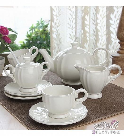 اطقم شاي 2015 اطقم شاي مميزه اطقم شاي تحفه 2015 Sugar Bowl Set Tea Bowl Set