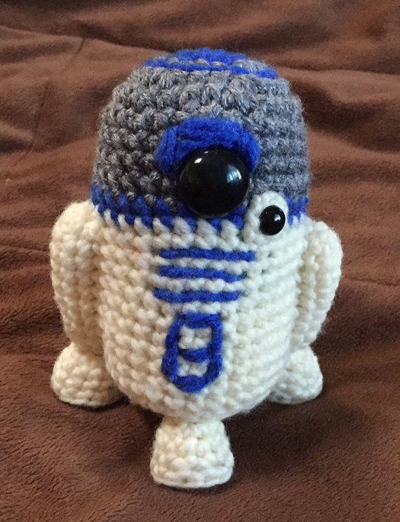 R2D2 Star Wars Inspired Droid Crochet Pattern PDF | Pinterest ...
