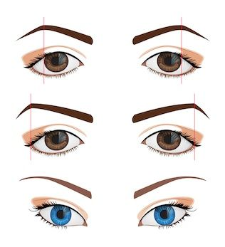 how to get upturned eyes