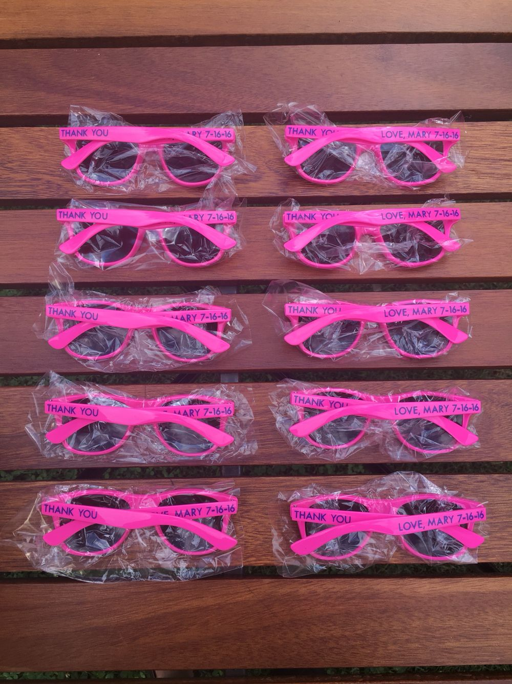 Children\'s sunglasses make a great party favor! This set is for a ...