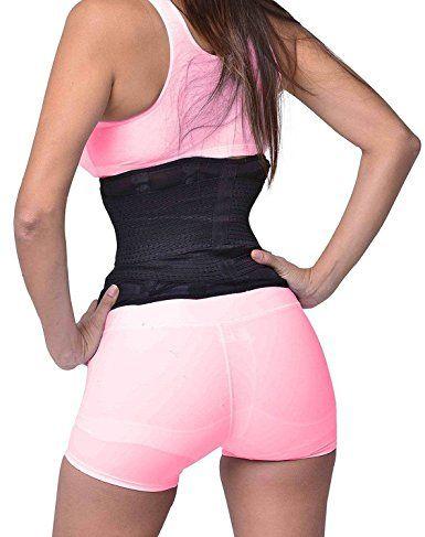 ba329d0376d Women Waist Trainer Cincher Belt Fitness Body Shaper For An Hourglass Shape  at Amazon Women s Clothing store