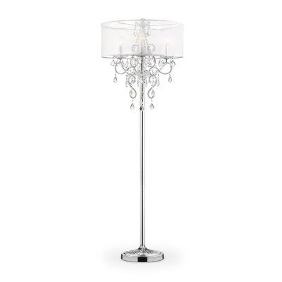 "Candelabra Floor Lamp Evangelia 63"" Candelabra Floor Lamp  Candelabra Floor Lamp And Lights"
