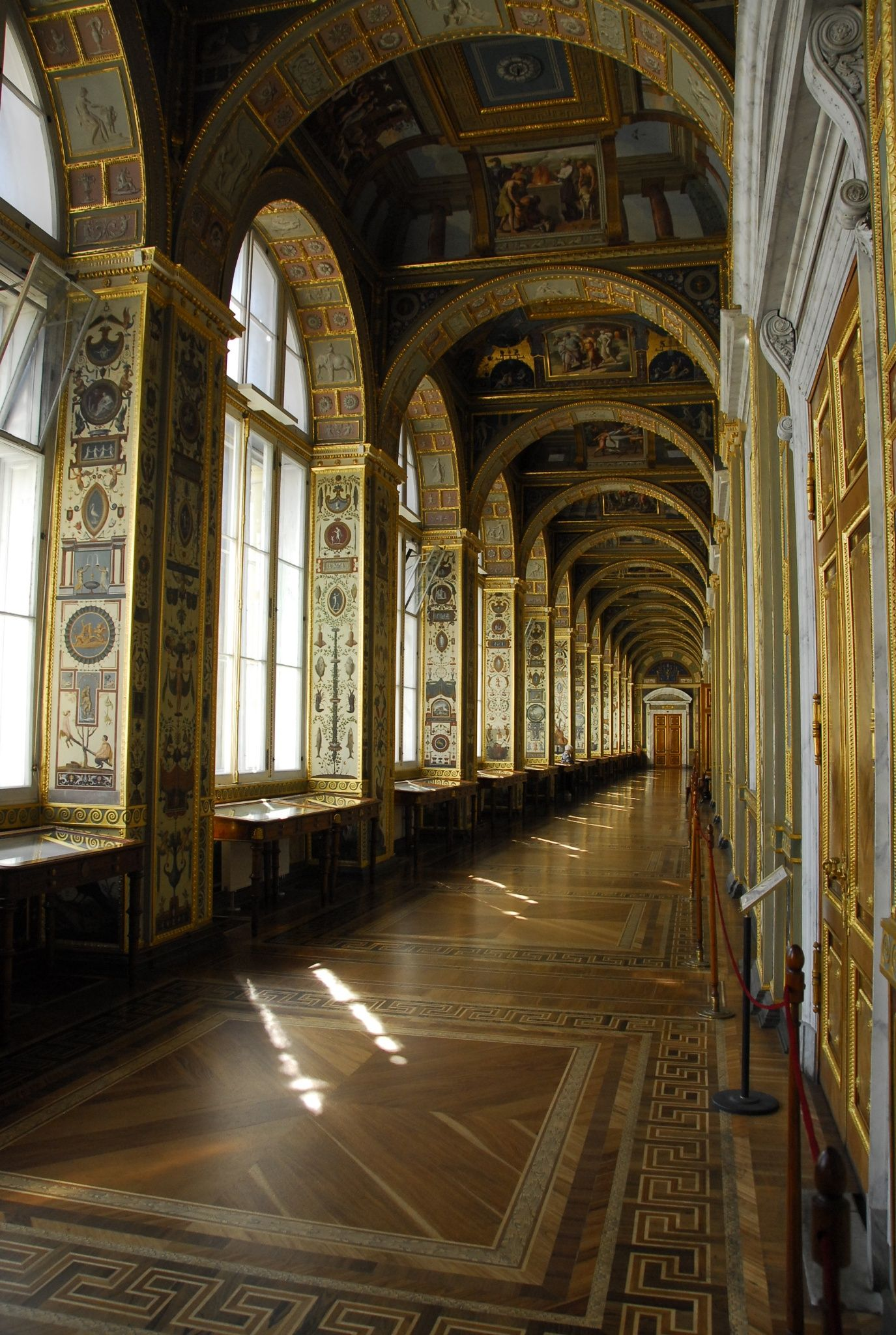 At the Hermitage, St. Petersburg, Russia