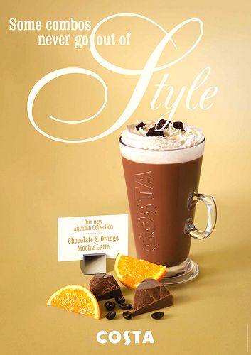Chocolate Orange Mocha Latte Mocha Latte Chocolate Orange Costa Coffee