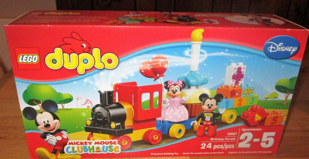 New Clubhouse Birthday Duplo Set 10597 Parade Lego Mickey Mouse xQrdoBeCW