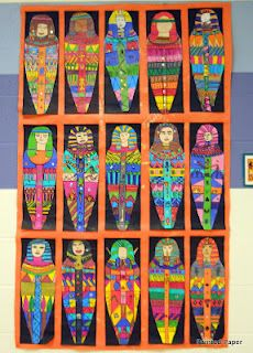 mummy project - would make fabulous 'early finishers' work