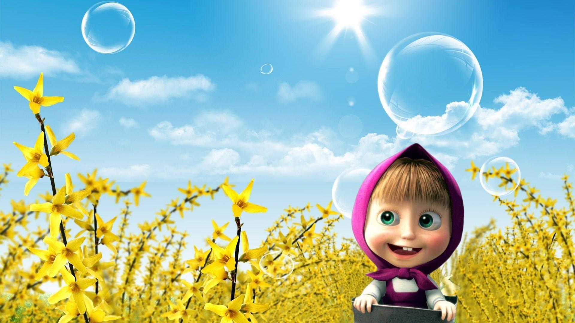 Get Free Printable Masha And The Bear Baby Shower Invitation Template Cartoon Wallpaper Animation Wallpaper Animated Wallpaper