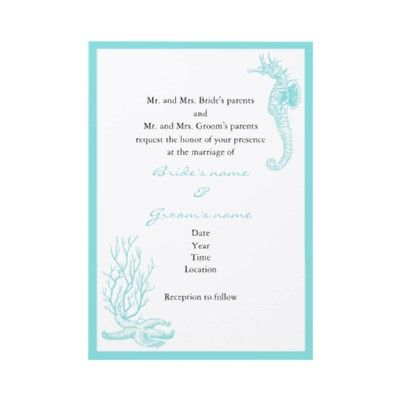 Destination Wedding Invitation by ONimages