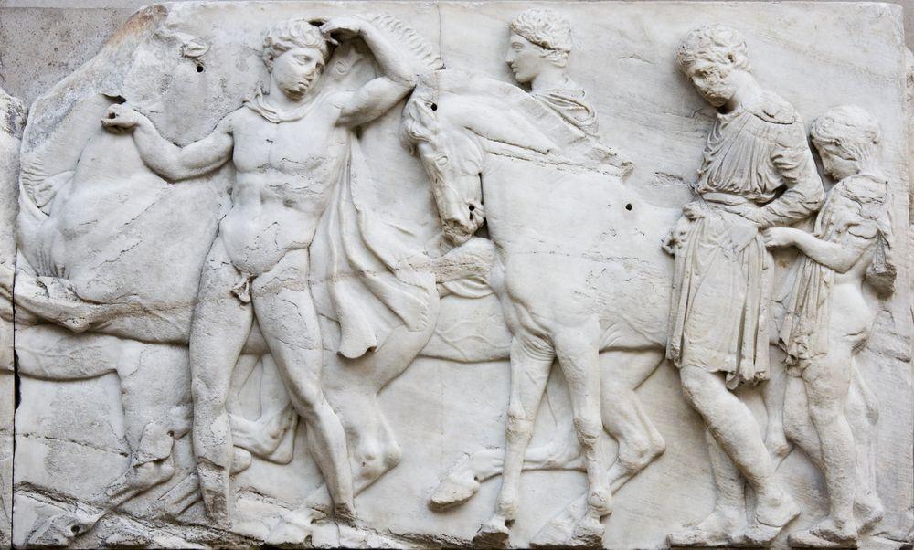 Elgin Marbles The Parthenon Parthenon Elgin Marbles Ancient Greek Art