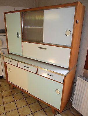 Küchenbuffet Küchenschrank vintage, Pastellfarben 50er / 60er in in ...