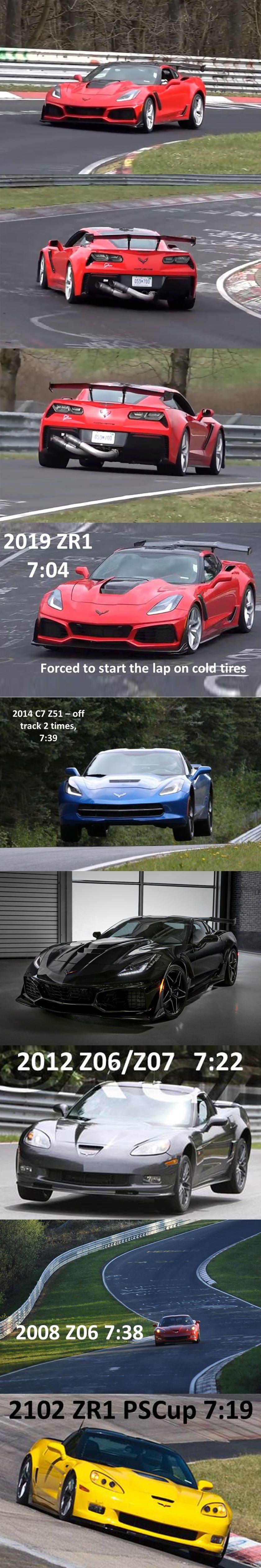 How Fast Is The Corvette Zr1 S Nurburgring Lap Time We Finally Have An Answer Corvette Zr1 Corvette Porsche 911 Gt2 Rs