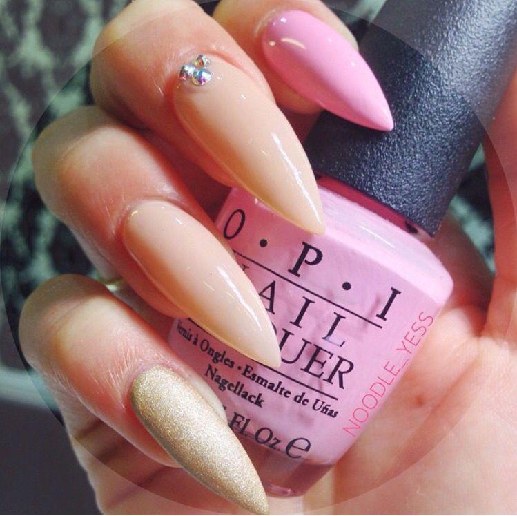 Pin by SIRENA on ❤UÑAS = NAILS❤ | Pinterest | Nail nail, OPI and ...
