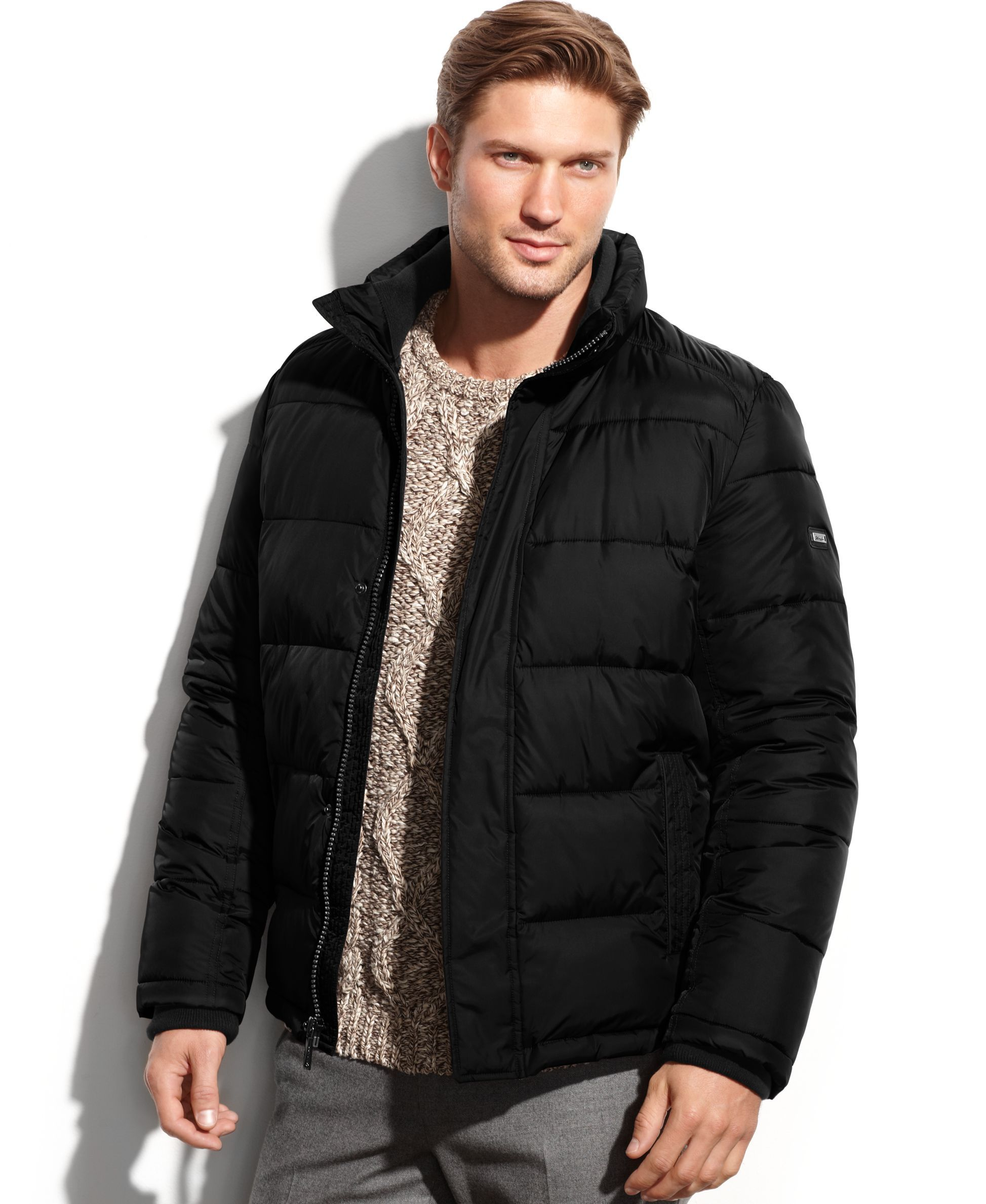 super specials where to buy hoard as a rare commodity Calvin Klein Solid Performance Puffer Jacket | Products ...