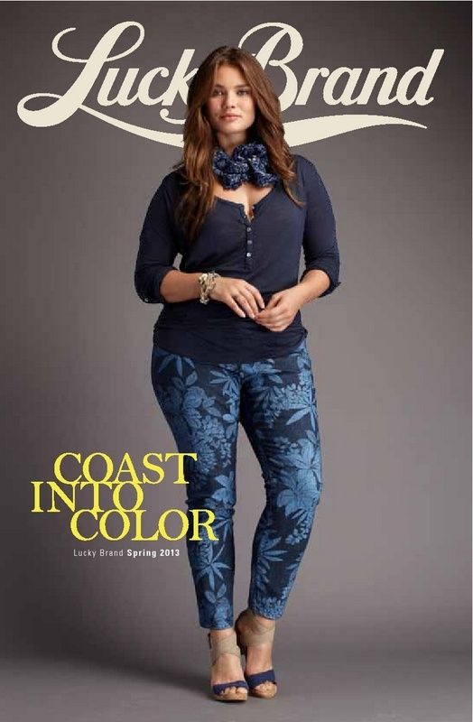 Lucky Releases its Plus Size Spring 2013 Look Book