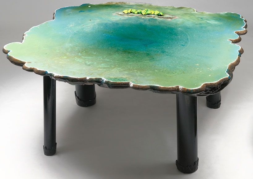 Gaetano Pesce: Six Tables On Water