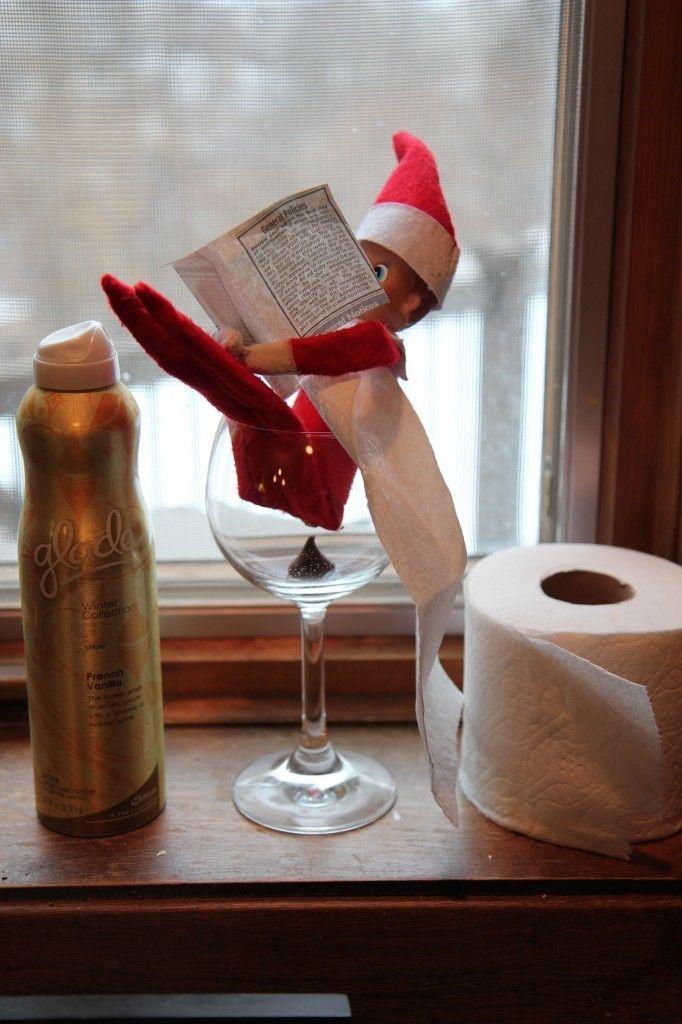 Naughty and Slightly Inappropriate Elf on the Shelf Ideas - Design Asylum Blog | by Kellie Smith