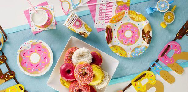 Idee festa di compleanno Donuts per bambine - VegaooParty