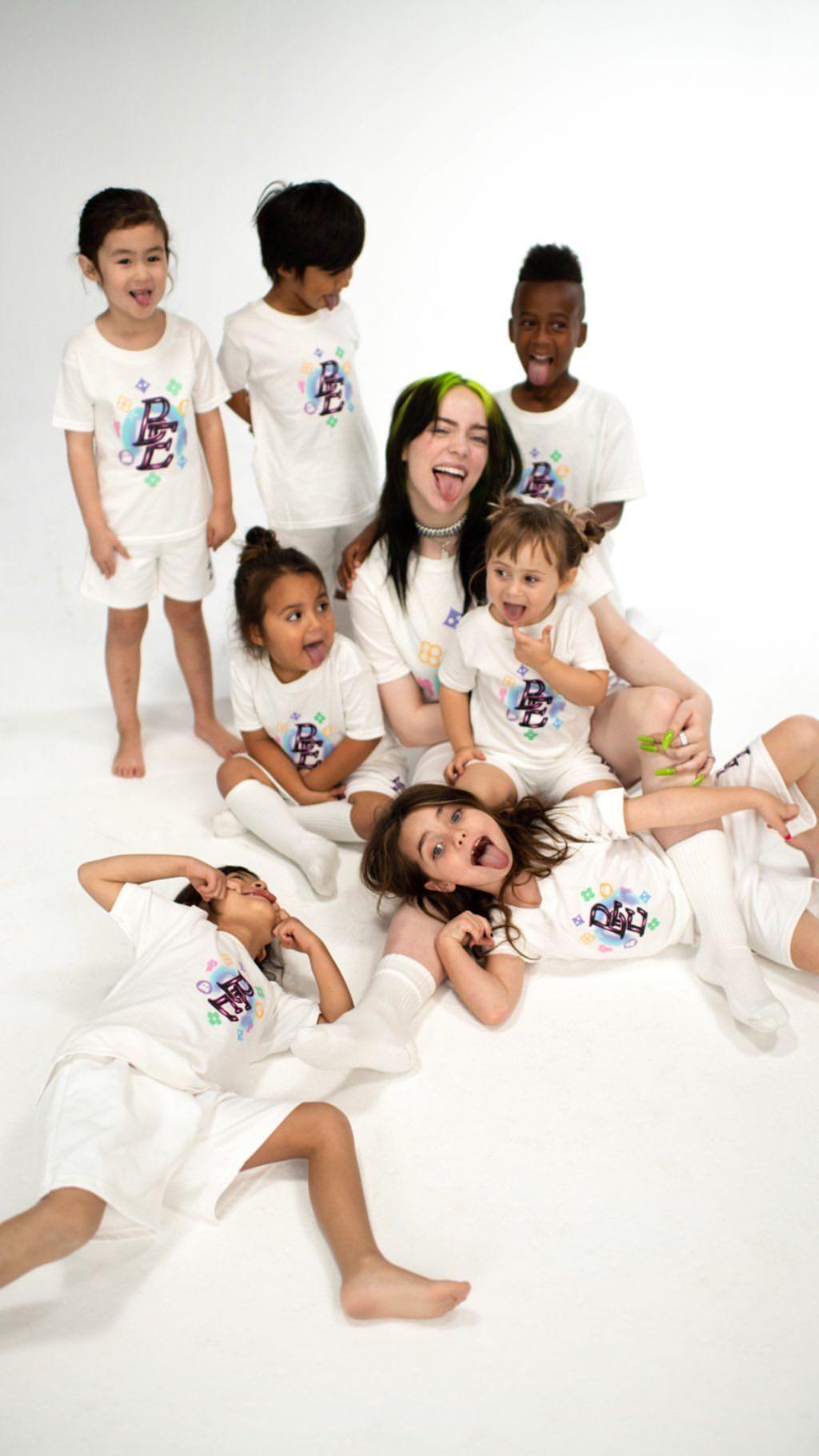 Billie Eilish X Blohsh Kid Collection Billie Eilish Billie Singer