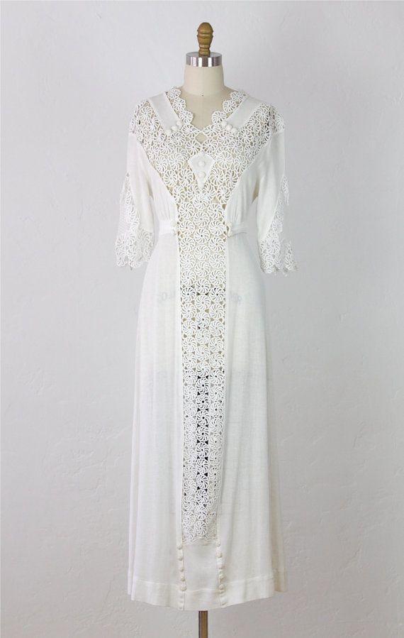 Tatted Wedding Dress