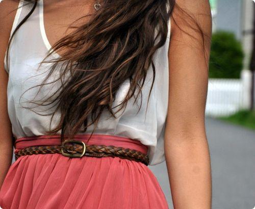 pink, belt, simply put