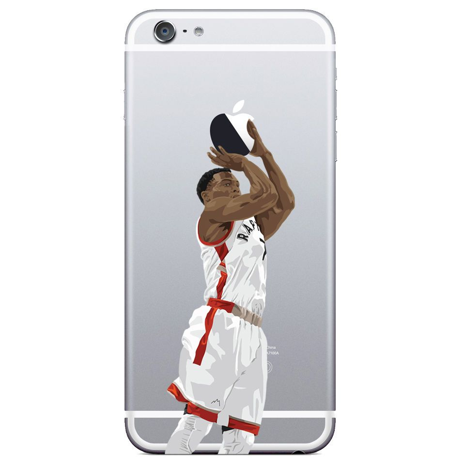 sneakers for cheap bc5eb e9c03 Kyle Lowry - Toronto Raptors Basketball phone case Transparent case ...