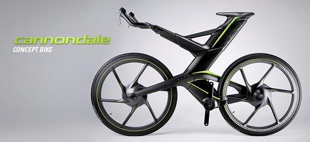 キャノンデールのコンセプトバイク 自転車 自転車のデザイン クールなバイク