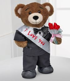 6543831adf4 Build-A-Bear Workshop® I ll Love You Fur Always Bear™ Send a message of love  with this charmer Stuffed with Hugs and Good Wishes® by our friends at ...