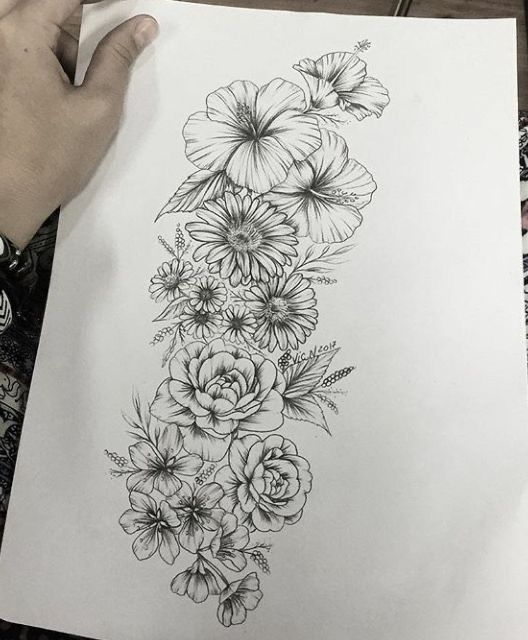 Pin By Brittany Allen On Clients In 2020 Floral Tattoo Sleeve Floral Tattoo Design Sleeve Tattoos For Women