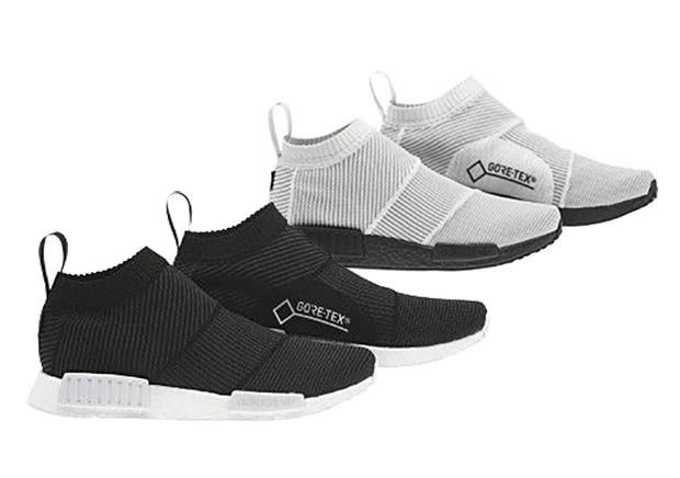 ba9b02a3d The adidas NMD City Sock Gore-Tex will release in two colorways this coming  November 2017 featuring a weatherproof woven upper. Details here