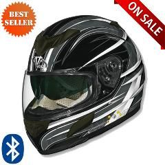 Vega Helmets -  Vega V-Tune Bluetooth Helmet Orbit