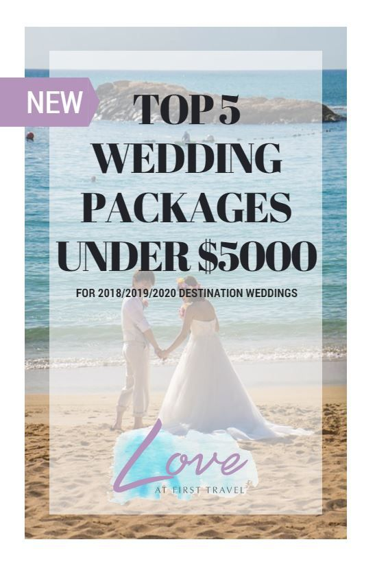 Weddings Under 5000 Budget Destination Wedding Affordable All Inclusive 2018 Weddi