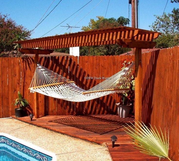 Backyard Hammock Ideas backyard hammock design ideas youtube Pergola With Hammock Yahoo Search Results