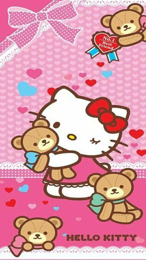 65+ Trendy wall paper phone cartoon hello kitty