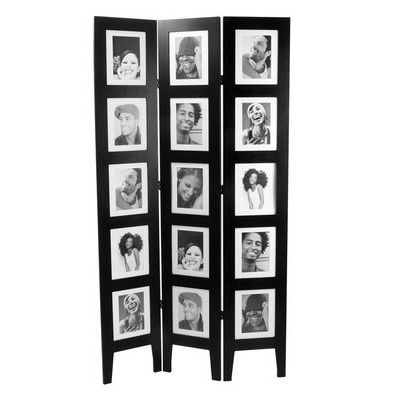 Room Divider - Photo Frame or privacy screen in funny faces ( eyes closed, wink, shocked etc)