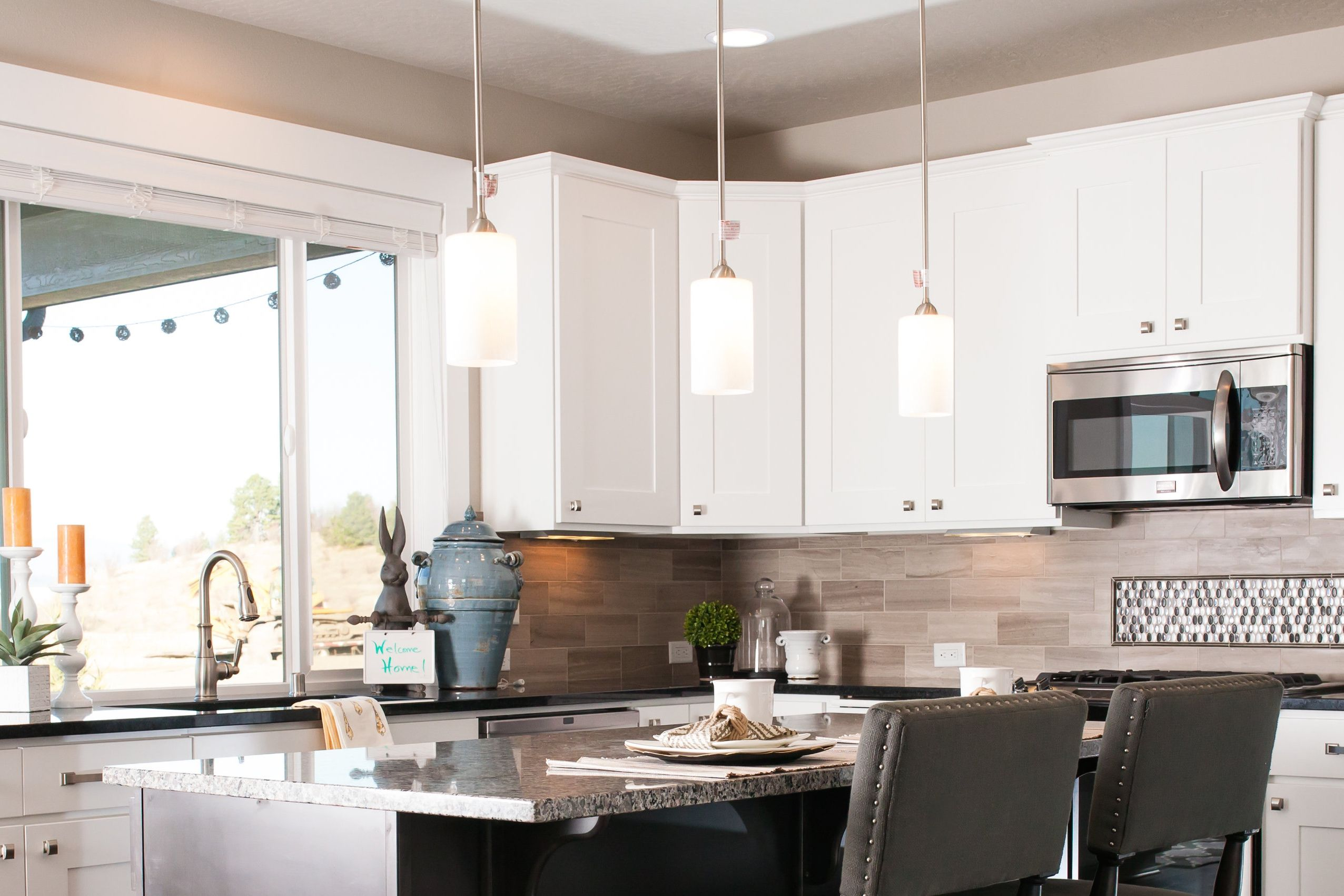 The Redwood kitchen features a mixture of traditional and ...