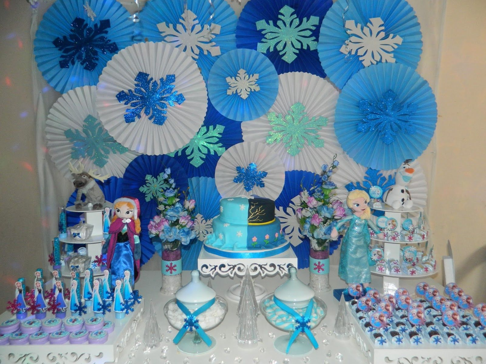 Geice Festa Frozen Simples (Rosetas Frozen)